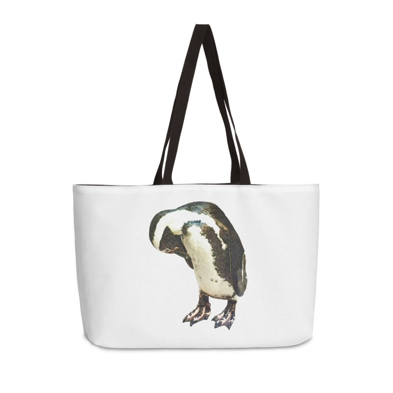Magellanic Penguin Accessories Weekender Bag Bag by Of The Wild by Kimberly J Tilley
