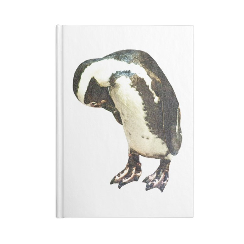 Magellanic Penguin Accessories Blank Journal Notebook by Of The Wild by Kimberly J Tilley