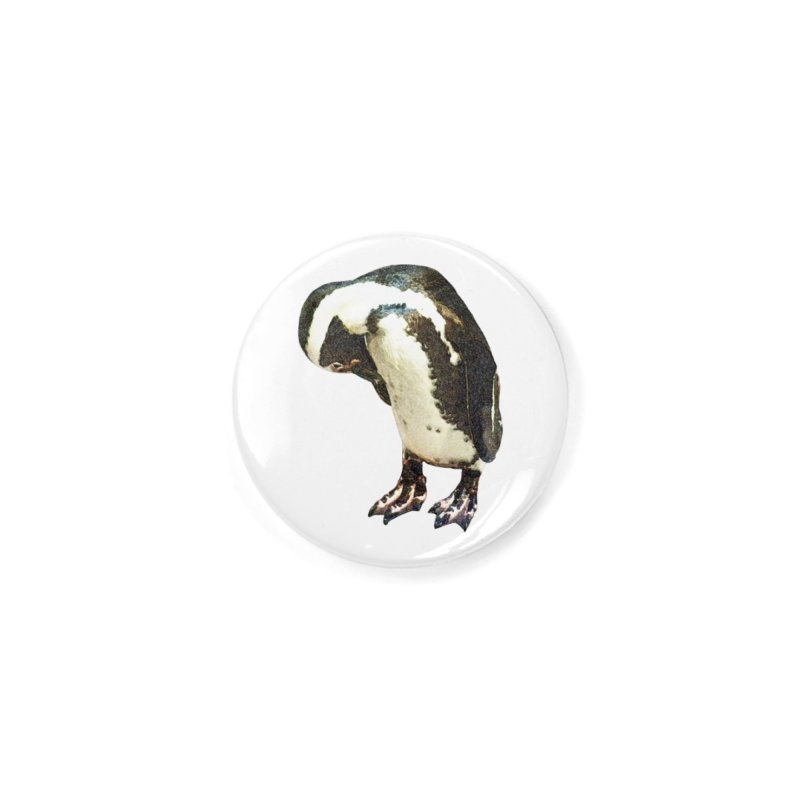 Magellanic Penguin Accessories Button by Of The Wild by Kimberly J Tilley