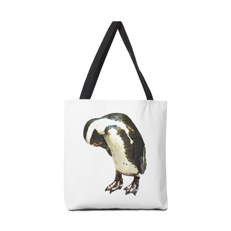 Magellanic Penguin Accessories Tote Bag Bag by Of The Wild by Kimberly J Tilley