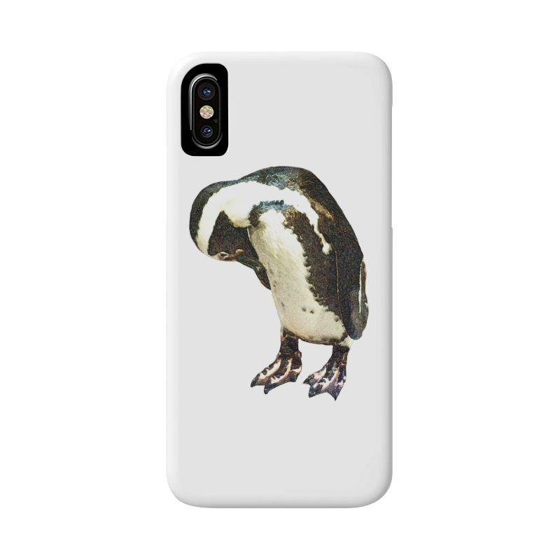Magellanic Penguin Accessories Phone Case by Of The Wild by Kimberly J Tilley
