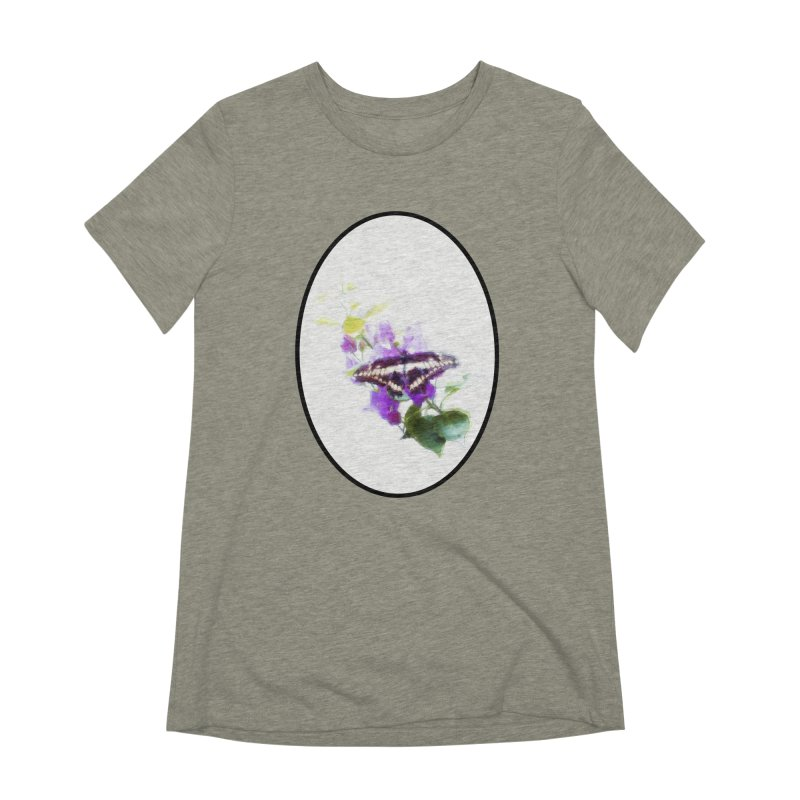 Giant Swallowtail Women's Extra Soft T-Shirt by Of The Wild by Kimberly J Tilley