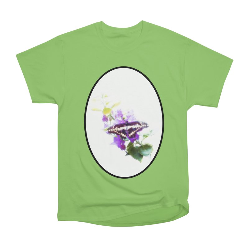 Giant Swallowtail Women's Heavyweight Unisex T-Shirt by Of The Wild by Kimberly J Tilley