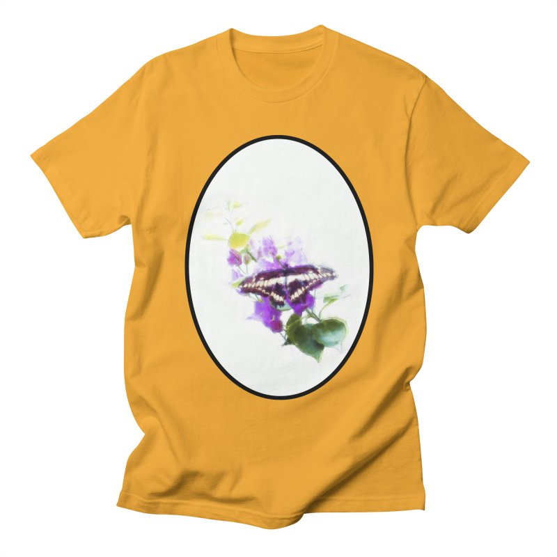 Giant Swallowtail Women's Regular Unisex T-Shirt by Of The Wild by Kimberly J Tilley