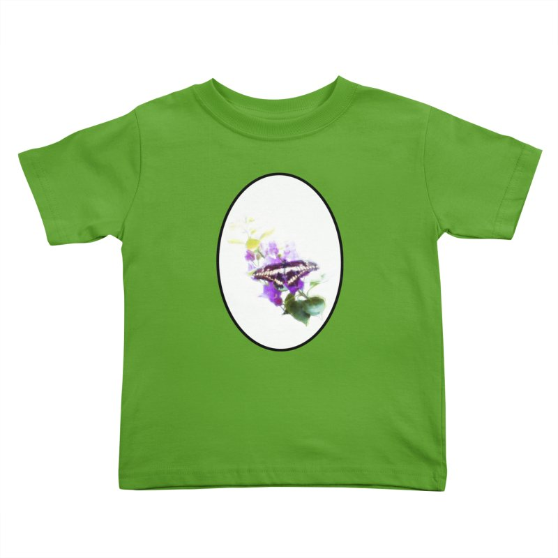 Giant Swallowtail Kids Toddler T-Shirt by Of The Wild by Kimberly J Tilley