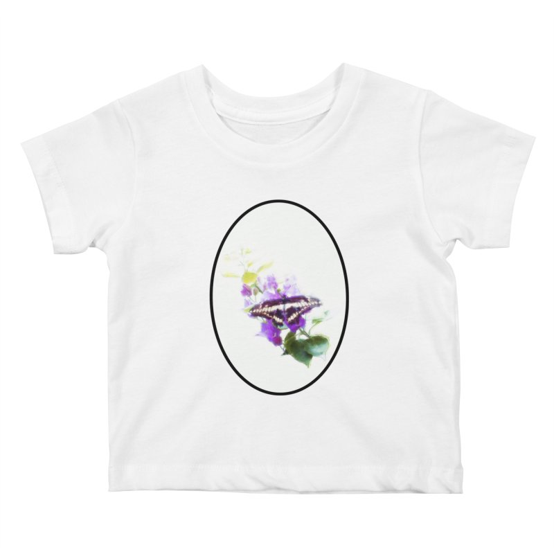 Giant Swallowtail Kids Baby T-Shirt by Of The Wild by Kimberly J Tilley