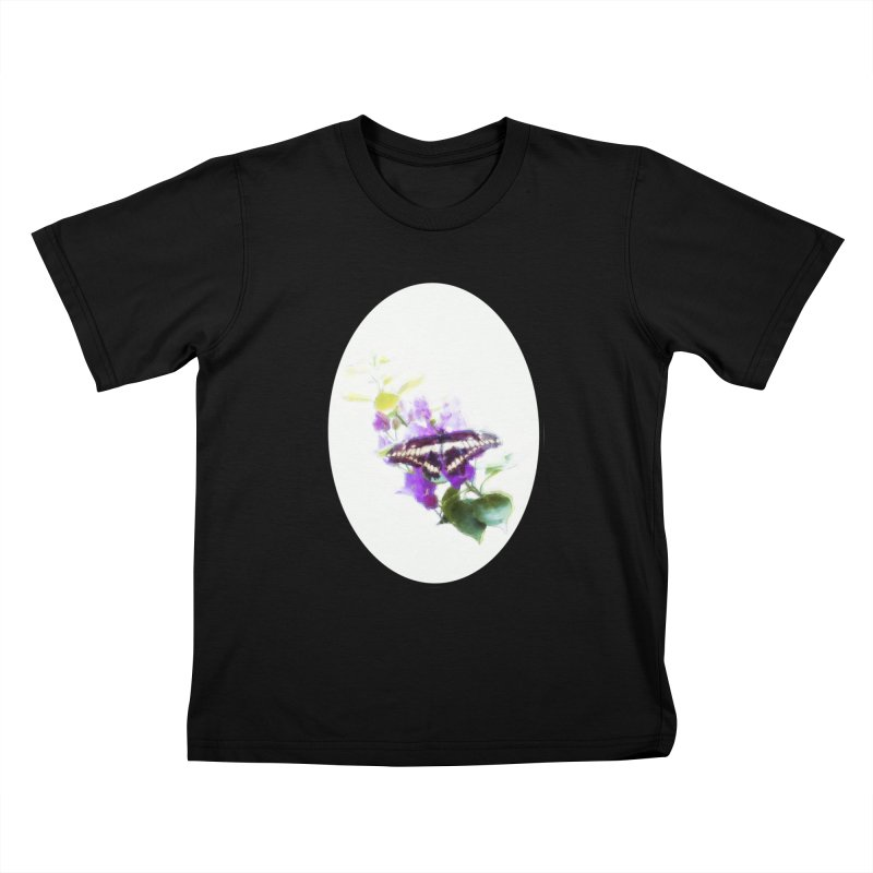 Giant Swallowtail Kids T-Shirt by Of The Wild by Kimberly J Tilley