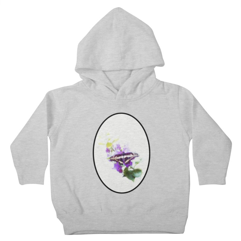 Giant Swallowtail Kids Toddler Pullover Hoody by Of The Wild by Kimberly J Tilley