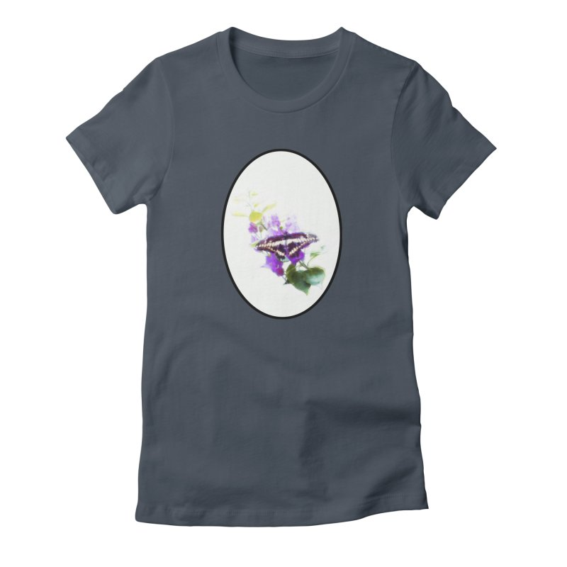 Giant Swallowtail Women's T-Shirt by Of The Wild by Kimberly J Tilley