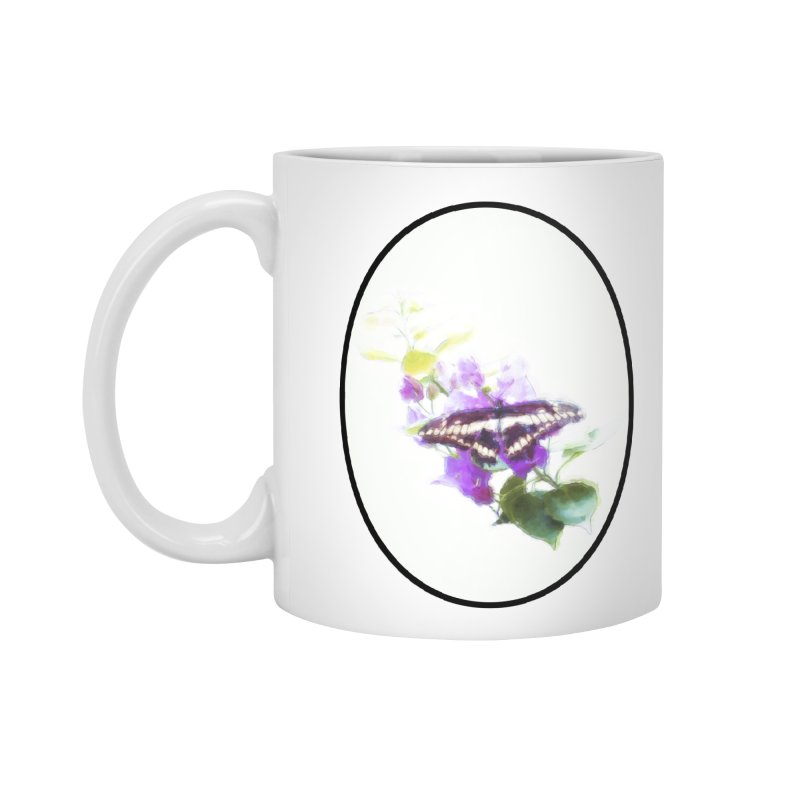 Giant Swallowtail Accessories Standard Mug by Of The Wild by Kimberly J Tilley