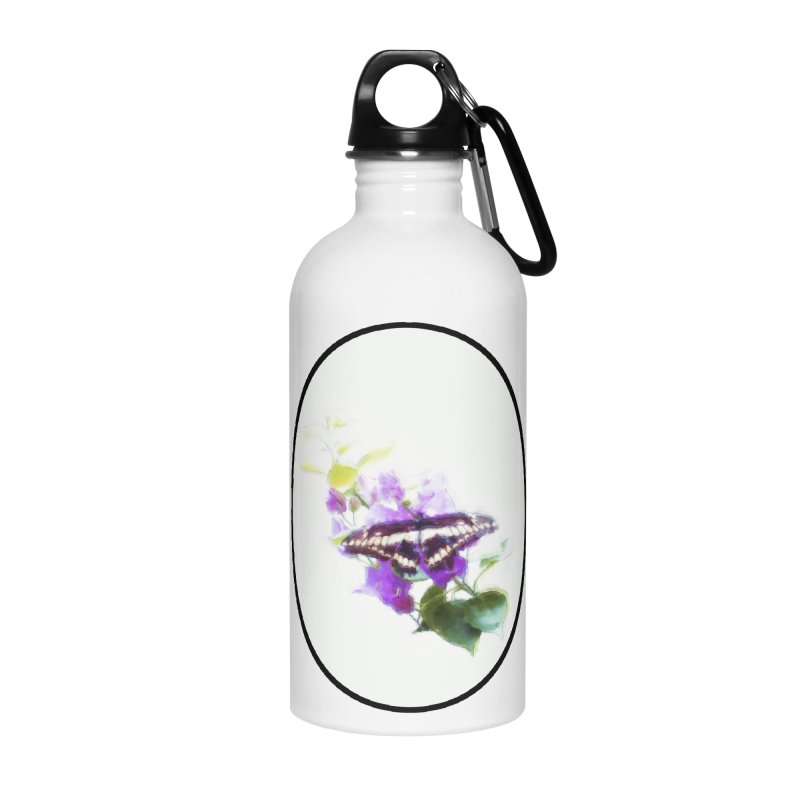 Giant Swallowtail Accessories Water Bottle by Of The Wild by Kimberly J Tilley