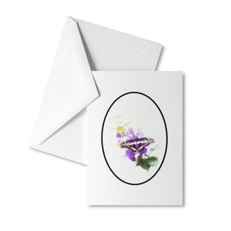 Giant Swallowtail Accessories Greeting Card by Of The Wild by Kimberly J Tilley