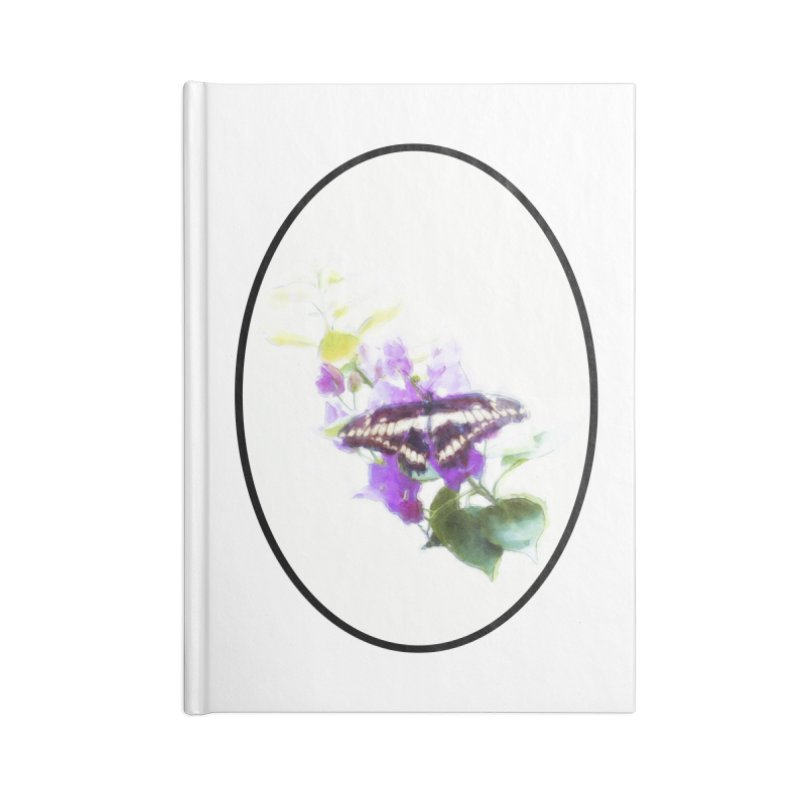 Giant Swallowtail Accessories Notebook by Of The Wild by Kimberly J Tilley