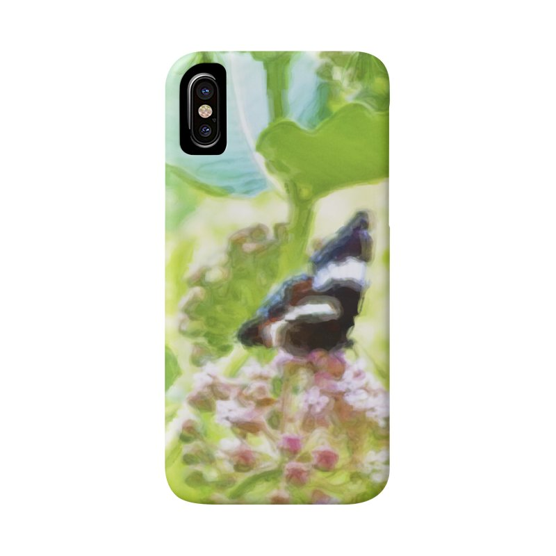 Butterfly and Milkweed Accessories Phone Case by Of The Wild by Kimberly J Tilley