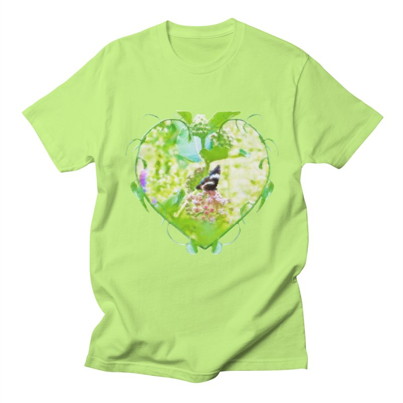 Butterfly and Milkweed Men's Regular T-Shirt by Of The Wild by Kimberly J Tilley