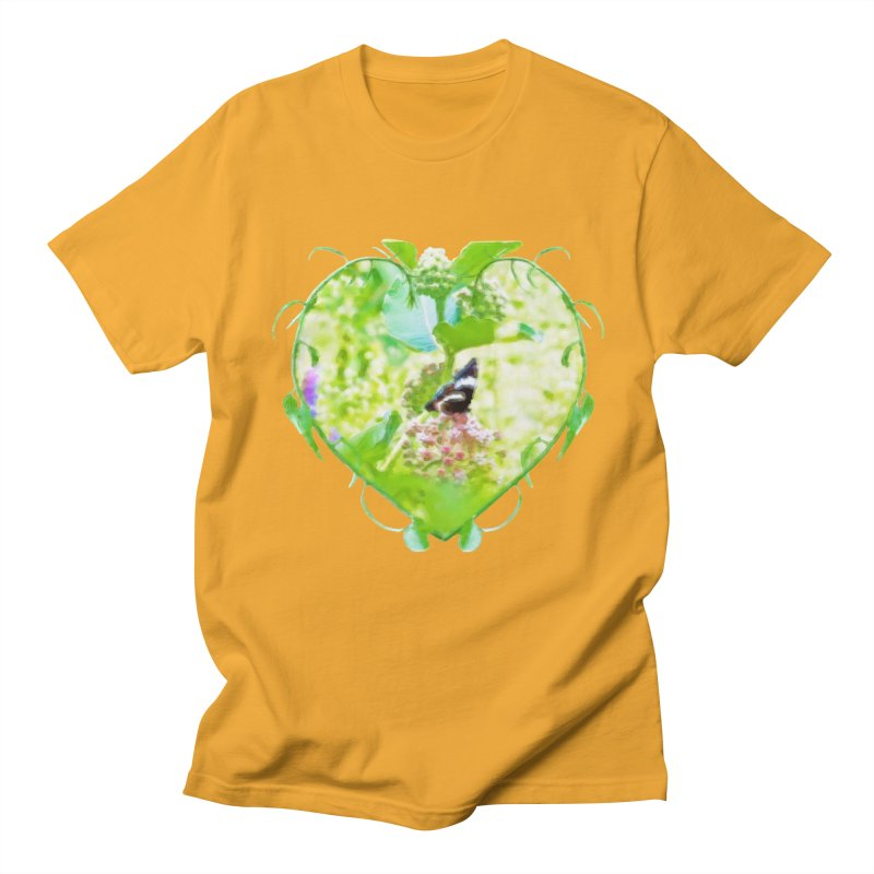 Butterfly and Milkweed Women's Regular Unisex T-Shirt by Of The Wild by Kimberly J Tilley