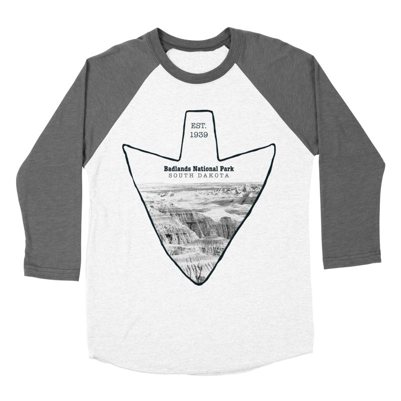 Badlands National Park Arrowhead Women's Longsleeve T-Shirt by Of The Wild by Kimberly J Tilley