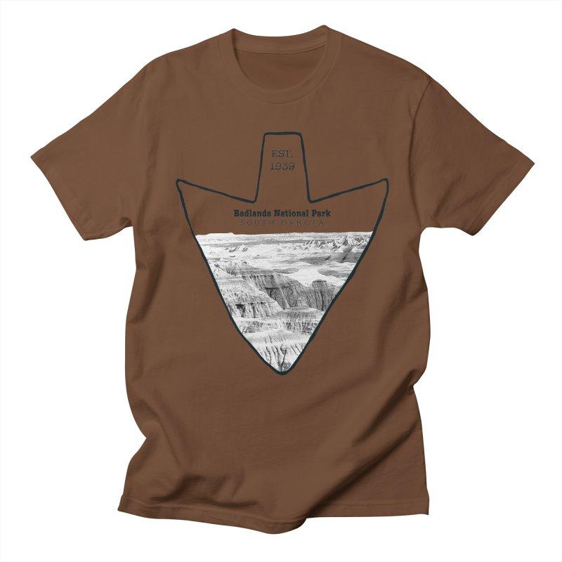 Badlands National Park Arrowhead Women's Regular Unisex T-Shirt by Of The Wild by Kimberly J Tilley