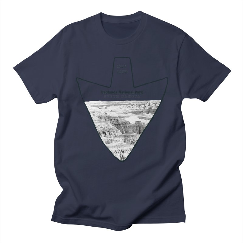 Badlands National Park Arrowhead Women's Regular Unisex T-Shirt by Of The Wild by Kimberly J Tilley