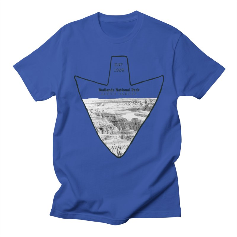 Badlands National Park Arrowhead Women's Unisex T-Shirt by Of The Wild by Kimberly J Tilley