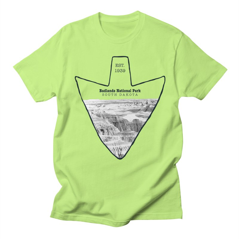 Badlands National Park Arrowhead Women's T-Shirt by Of The Wild by Kimberly J Tilley