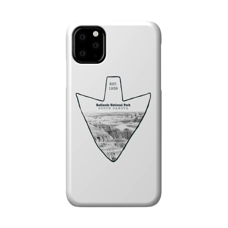 Badlands National Park Arrowhead Accessories Phone Case by Of The Wild by Kimberly J Tilley