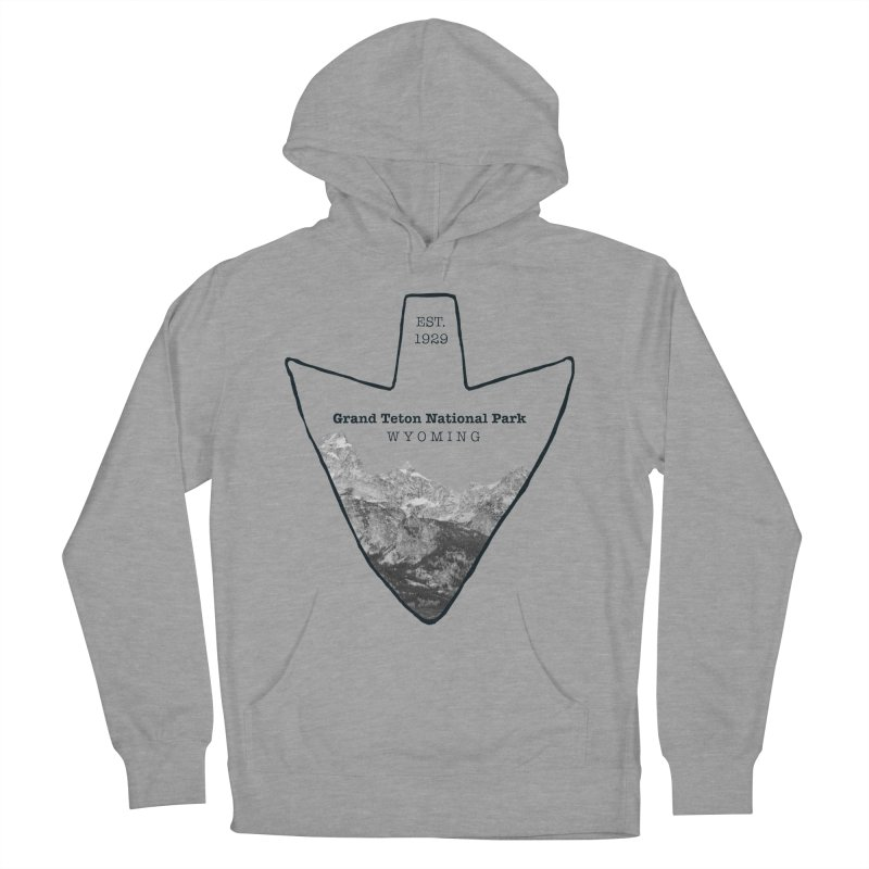 Grand Teton National Park Arrowhead Women's Pullover Hoody by Of The Wild by Kimberly J Tilley