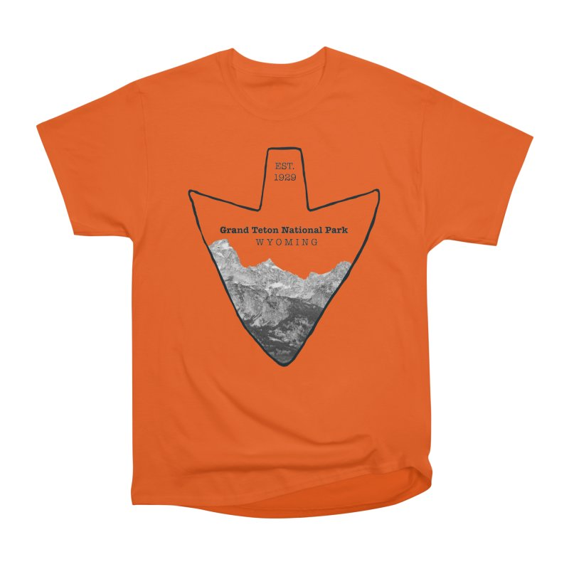 Grand Teton National Park Arrowhead Women's T-Shirt by Of The Wild by Kimberly J Tilley
