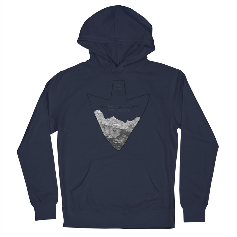 Grand Teton National Park Arrowhead Men's Pullover Hoody by Of The Wild by Kimberly J Tilley