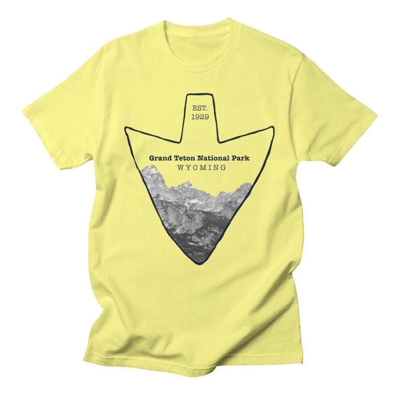 Grand Teton National Park Arrowhead Women's Regular Unisex T-Shirt by Of The Wild by Kimberly J Tilley