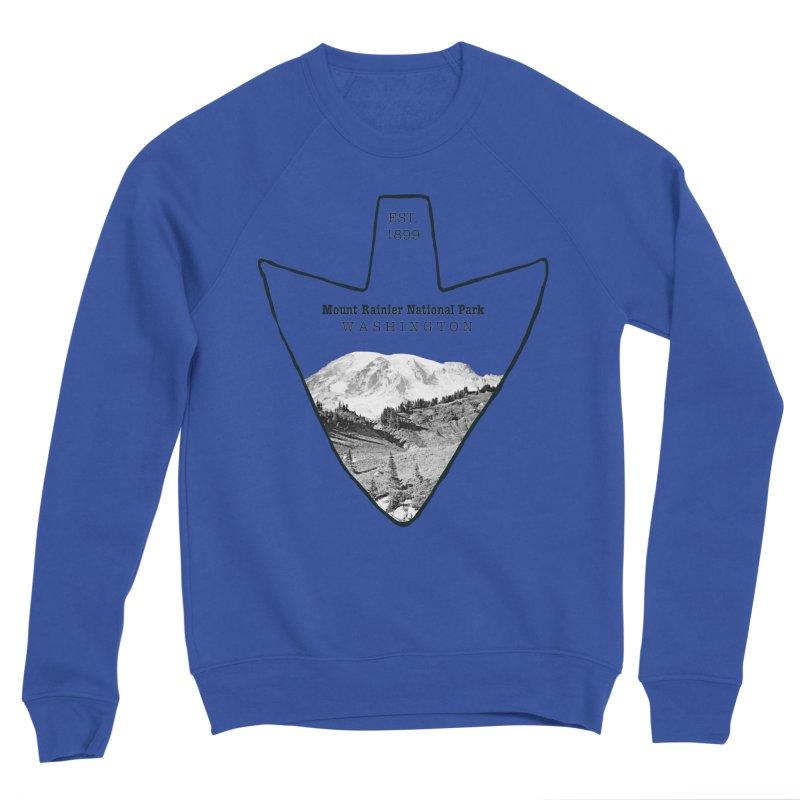 Mount Rainier National Park Arrowhead Women's Sweatshirt by Of The Wild by Kimberly J Tilley