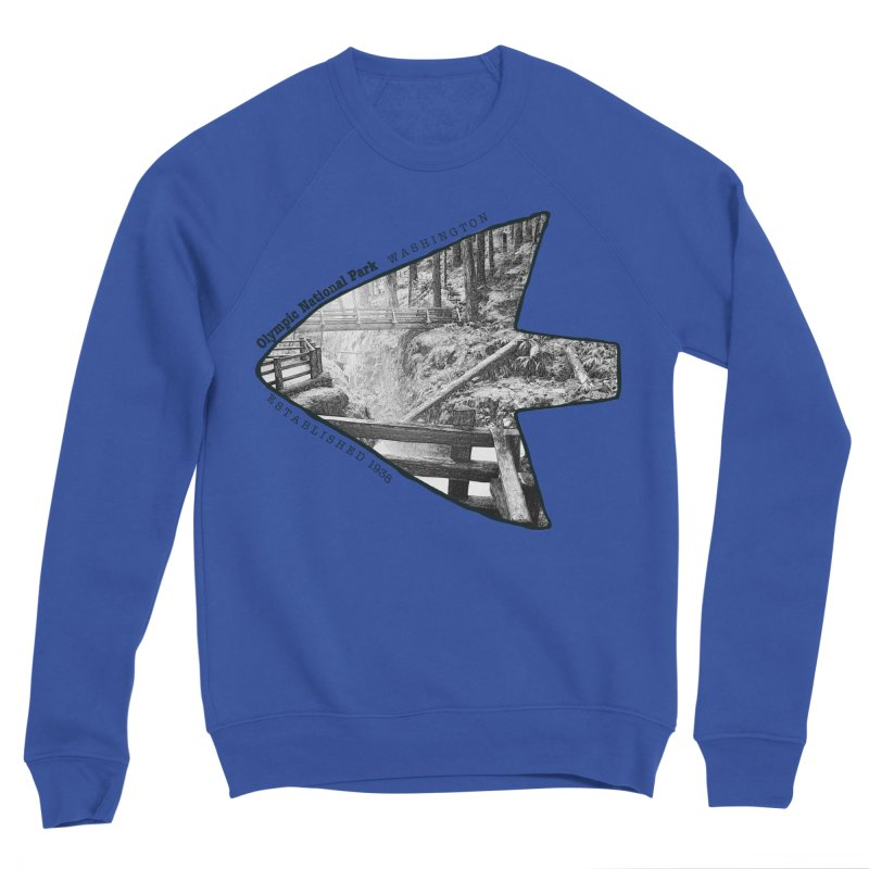 Olympic National Park Arrowhead Women's Sweatshirt by Of The Wild by Kimberly J Tilley
