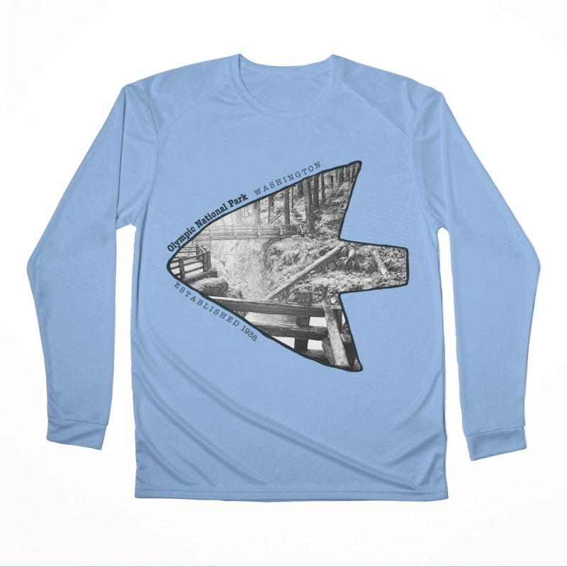 Olympic National Park Arrowhead Women's Longsleeve T-Shirt by Of The Wild by Kimberly J Tilley