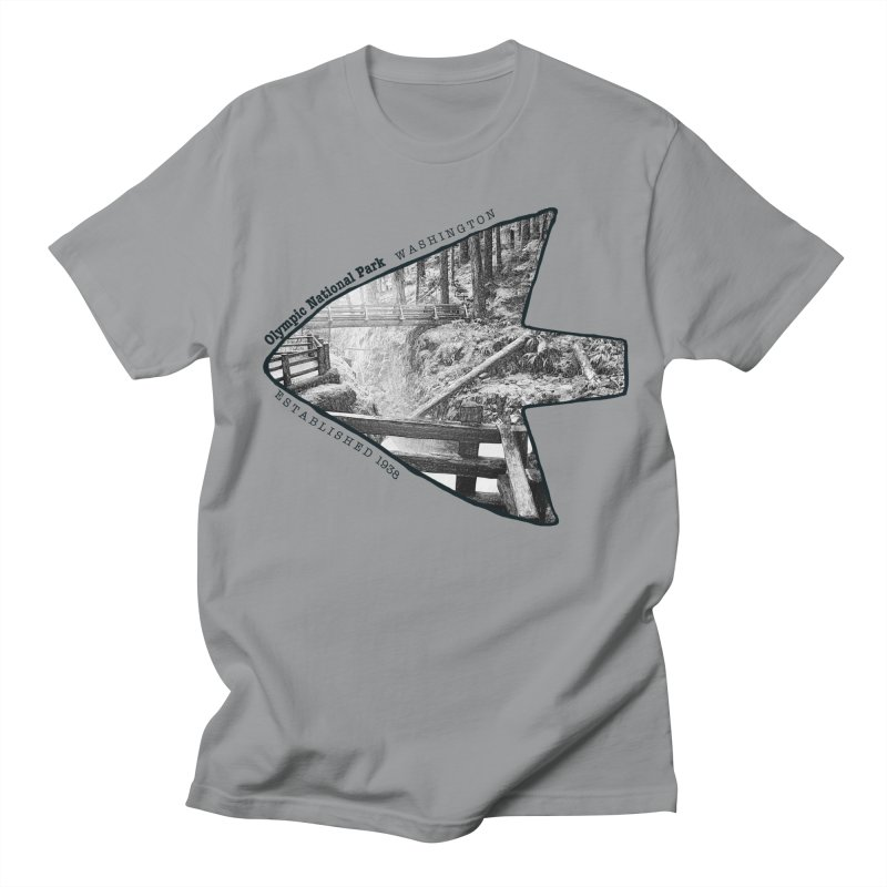 Olympic National Park Arrowhead Women's Regular Unisex T-Shirt by Of The Wild by Kimberly J Tilley
