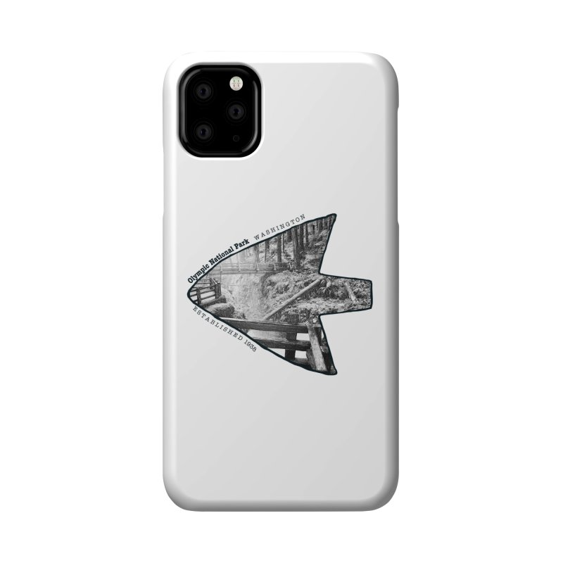 Olympic National Park Arrowhead Accessories Phone Case by Of The Wild by Kimberly J Tilley