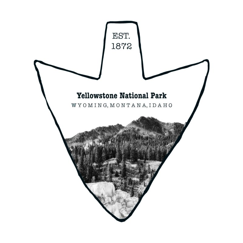 Yellowstone National Park Arrowhead None  by Of The Wild by Kimberly J Tilley