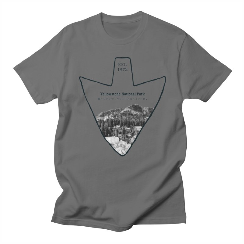 Yellowstone National Park Arrowhead Women's T-Shirt by Of The Wild by Kimberly J Tilley