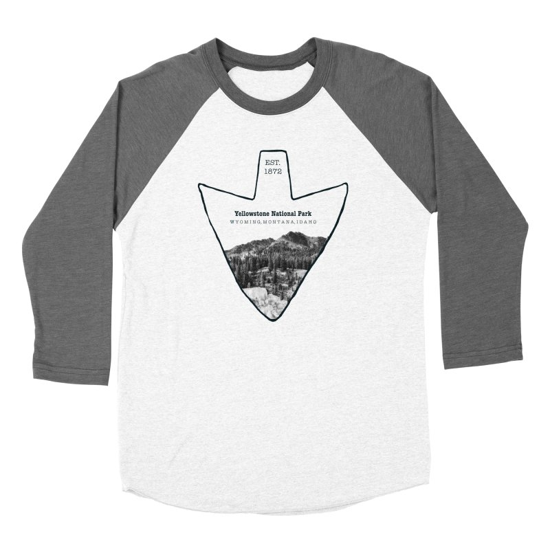 Yellowstone National Park Arrowhead Women's Longsleeve T-Shirt by Of The Wild by Kimberly J Tilley