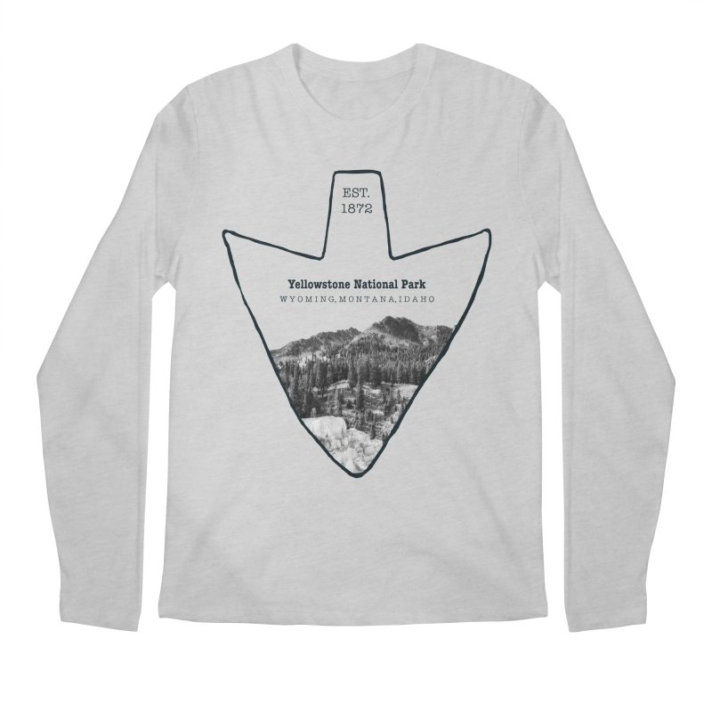 Yellowstone National Park Arrowhead Men's  by Of The Wild by Kimberly J Tilley