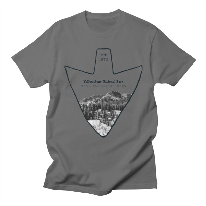 Yellowstone National Park Arrowhead Women's Unisex T-Shirt by Of The Wild by Kimberly J Tilley
