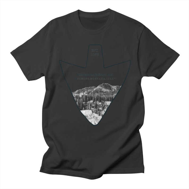 Yellowstone National Park Arrowhead Women's Regular Unisex T-Shirt by Of The Wild by Kimberly J Tilley
