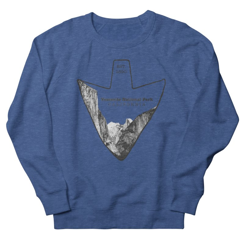 Yosemite National Park Arrowhead Men's Sweatshirt by Of The Wild by Kimberly J Tilley