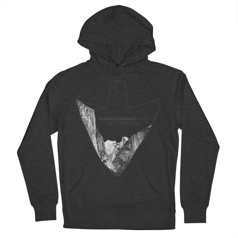 Yosemite National Park Arrowhead Women's French Terry Pullover Hoody by Of The Wild by Kimberly J Tilley
