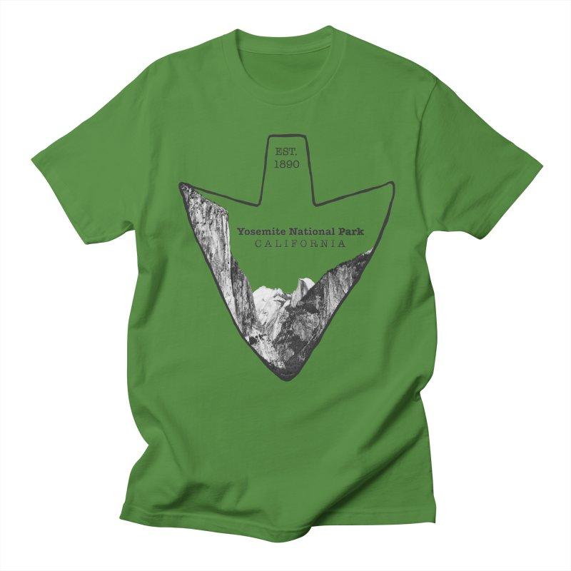 Yosemite National Park Arrowhead Women's Regular Unisex T-Shirt by Of The Wild by Kimberly J Tilley