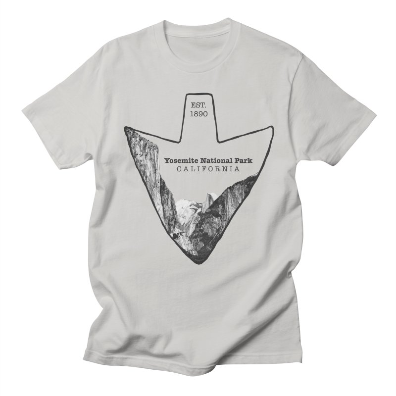 Yosemite National Park Arrowhead Women's Unisex T-Shirt by Of The Wild by Kimberly J Tilley