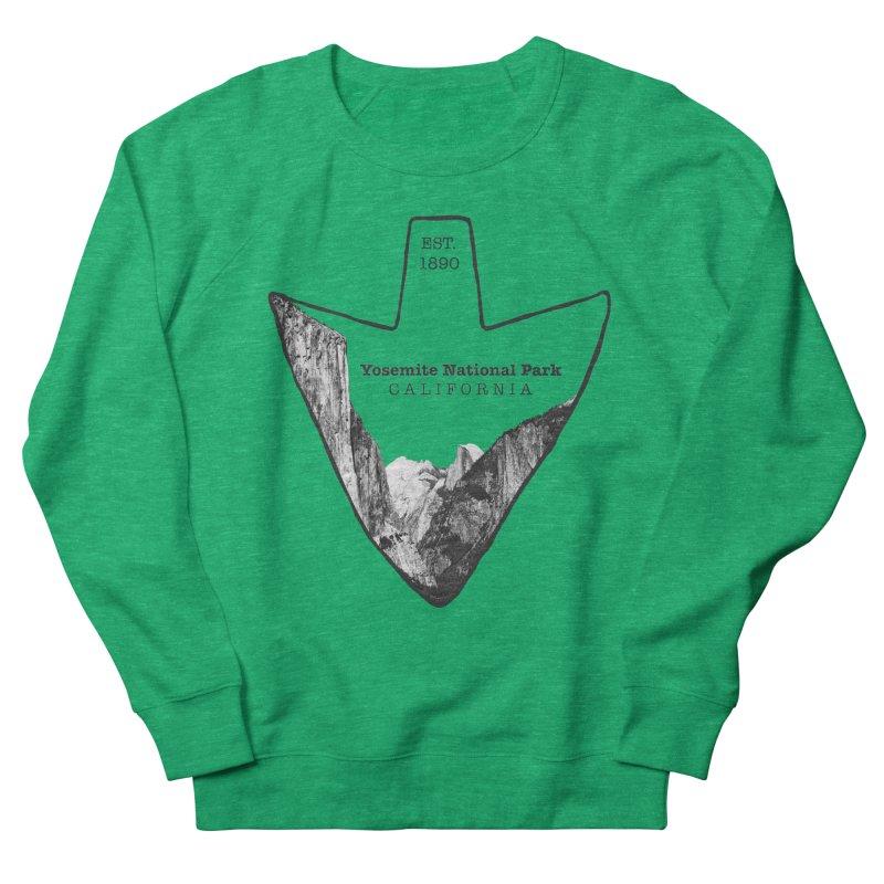 Yosemite National Park Arrowhead Women's Sweatshirt by Of The Wild by Kimberly J Tilley