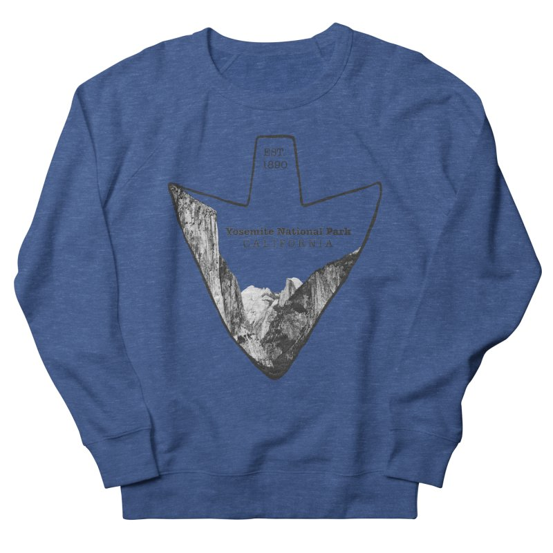 Yosemite National Park Arrowhead Women's French Terry Sweatshirt by Of The Wild by Kimberly J Tilley