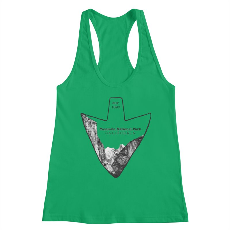 Yosemite National Park Arrowhead Women's Tank by Of The Wild by Kimberly J Tilley