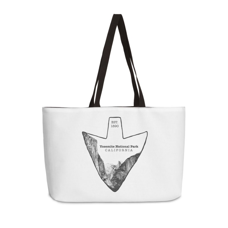 Yosemite National Park Arrowhead Accessories Weekender Bag Bag by Of The Wild by Kimberly J Tilley