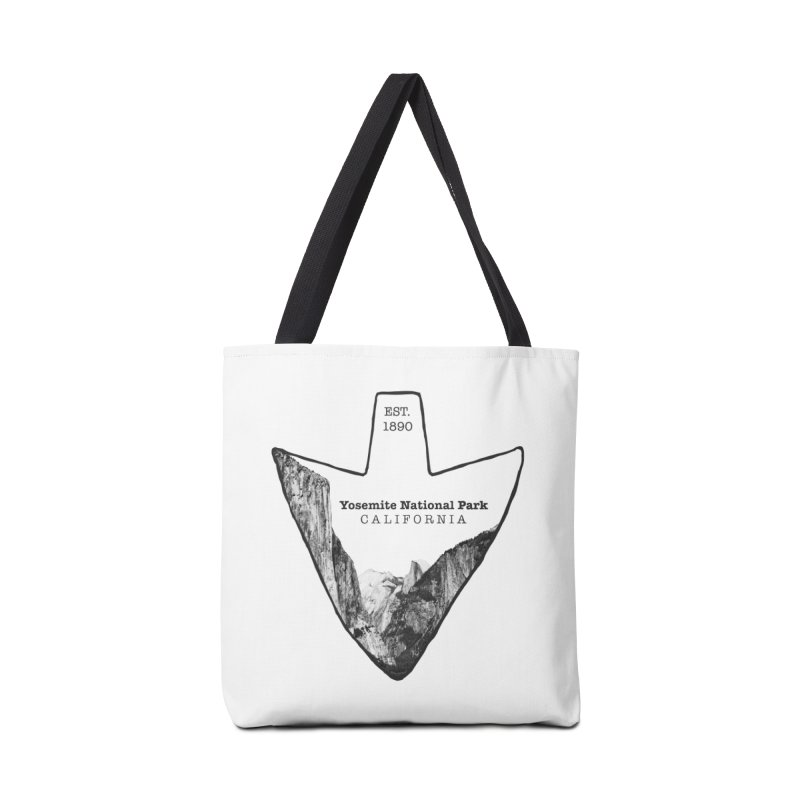 Yosemite National Park Arrowhead Accessories Tote Bag Bag by Of The Wild by Kimberly J Tilley